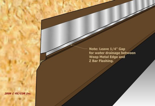 2D Z Bar Eave to Rake Wall 5d