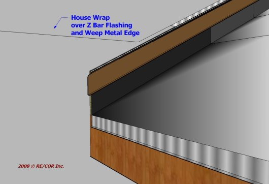 2D Z Bar Eave to Rake Wall 6